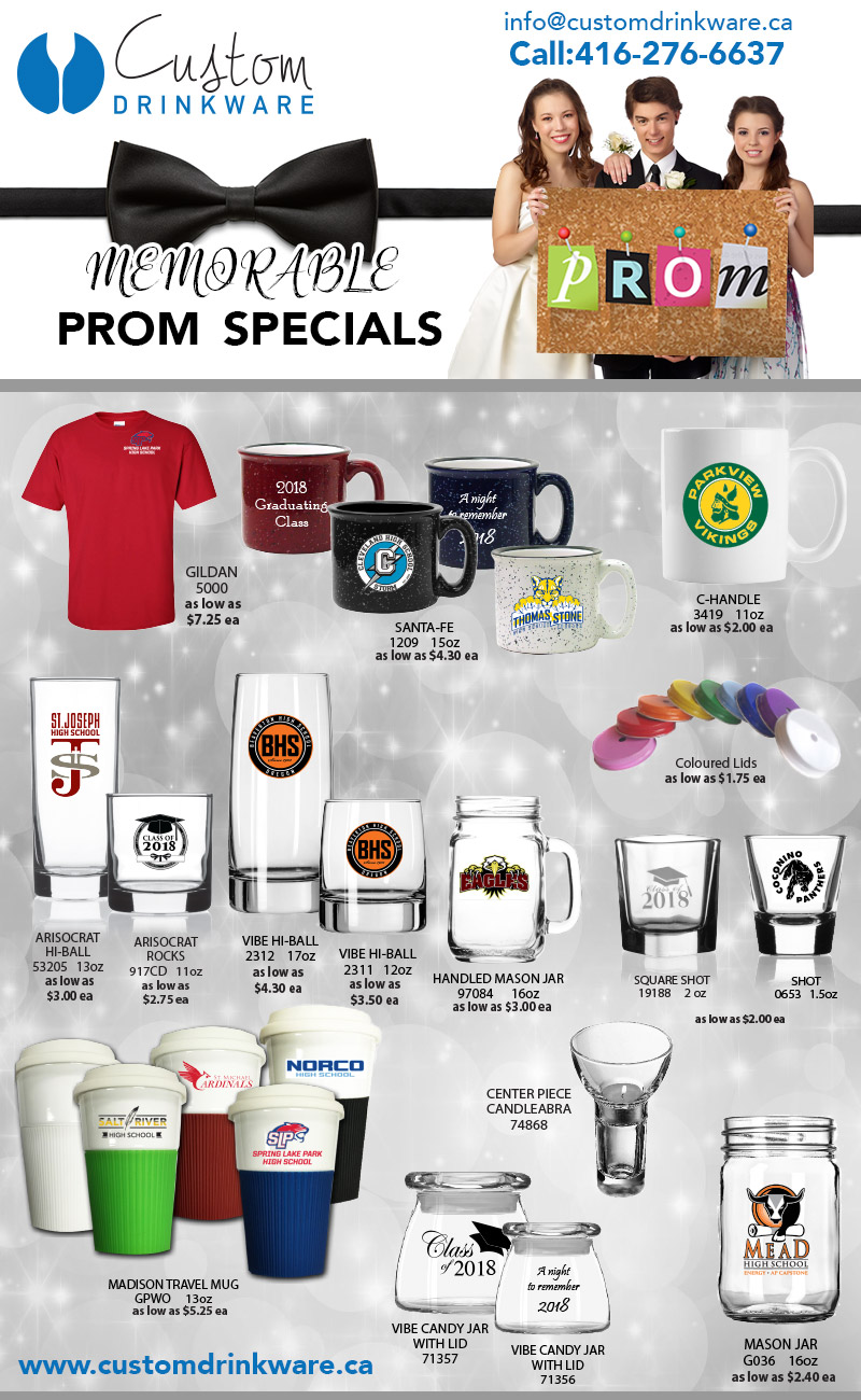 Prom Specials 2018