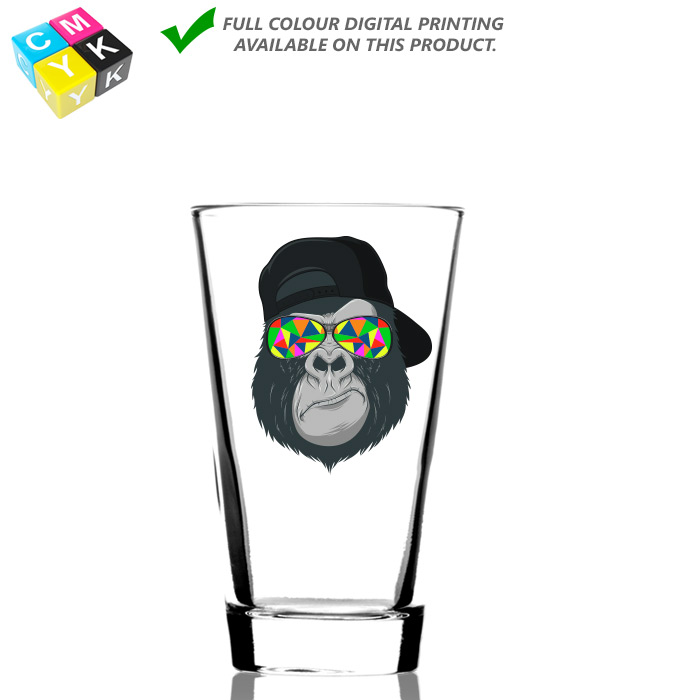 0647 Mixing Glass 14oz Digital Printing