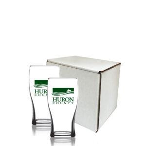 Customized Manchester Glasses Gift Set