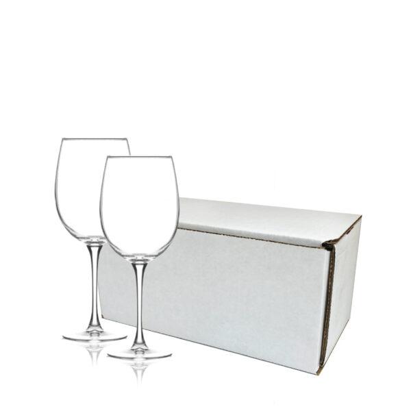 Customized Stemmed Wine Glasses Gift Set